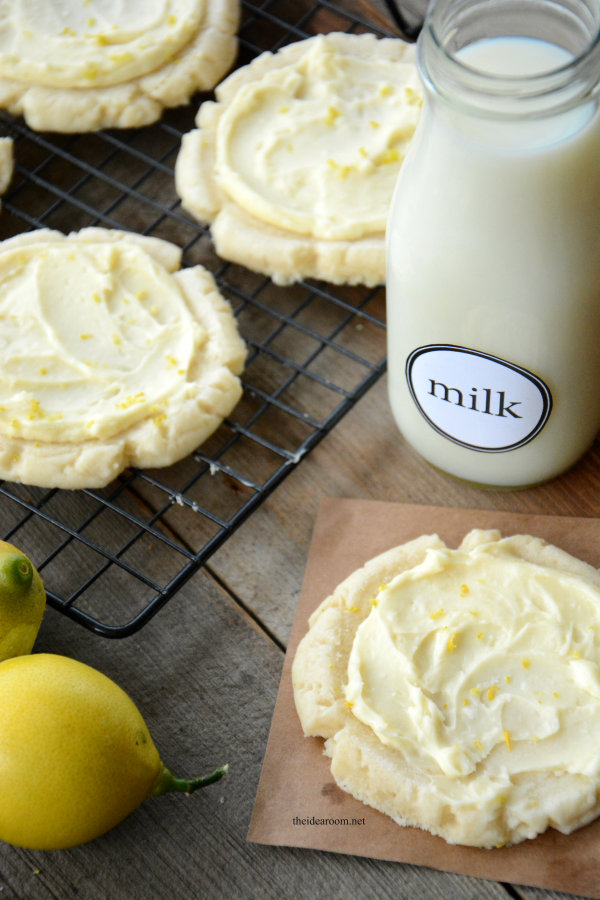 Lemon Swig Sugar Cookies