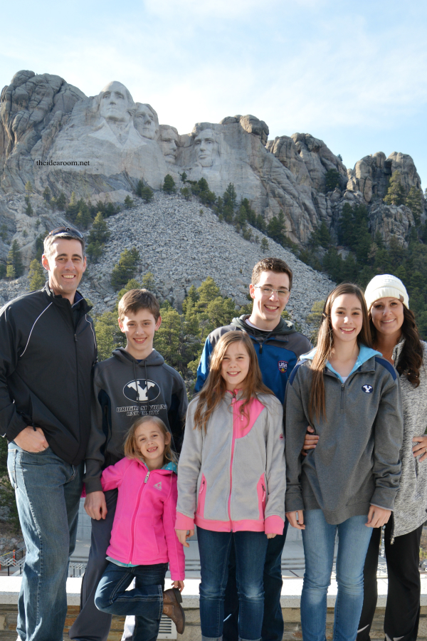 Mount Rushmore family