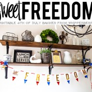 Printable Freedom Banner