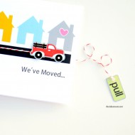 We've Moved Card Printables