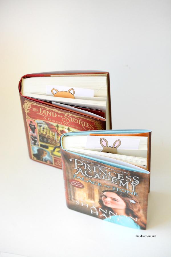 cricut Animal-Bookmarks 1