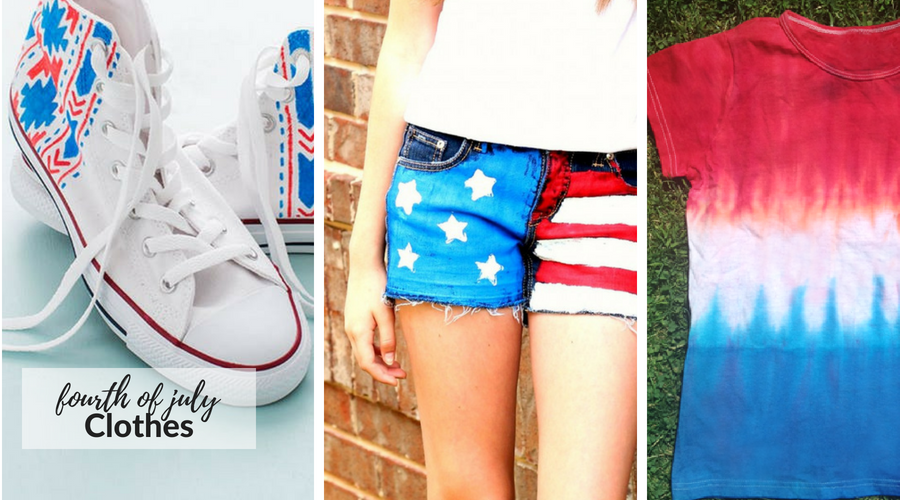 fourth of july clothes and accesories