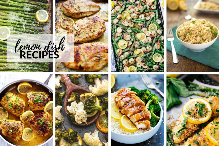 Best Lemon Recipes and Lemon Desserts