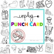 Unplugged Summer Activities Punch Card