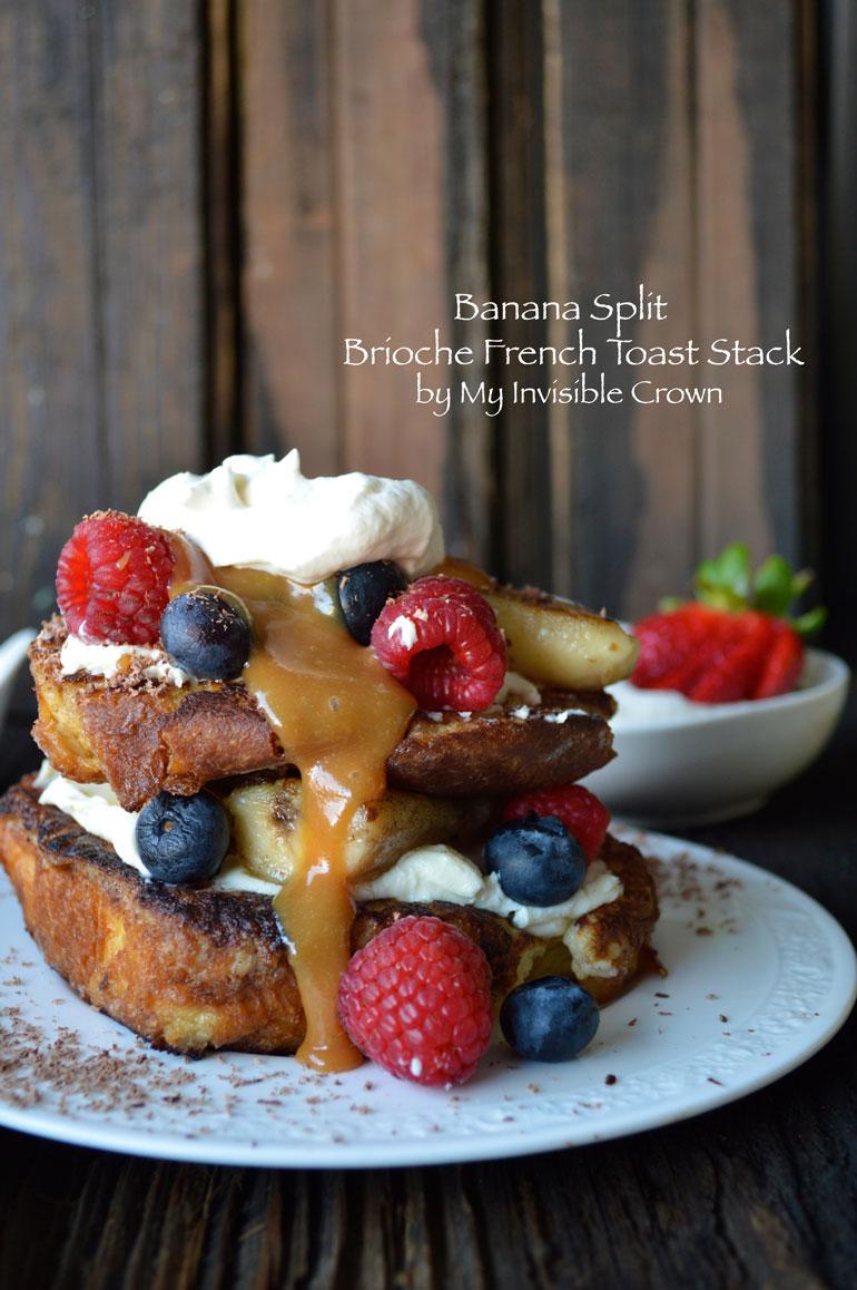 Brioche-Banana-Split-French-Toast-Stack