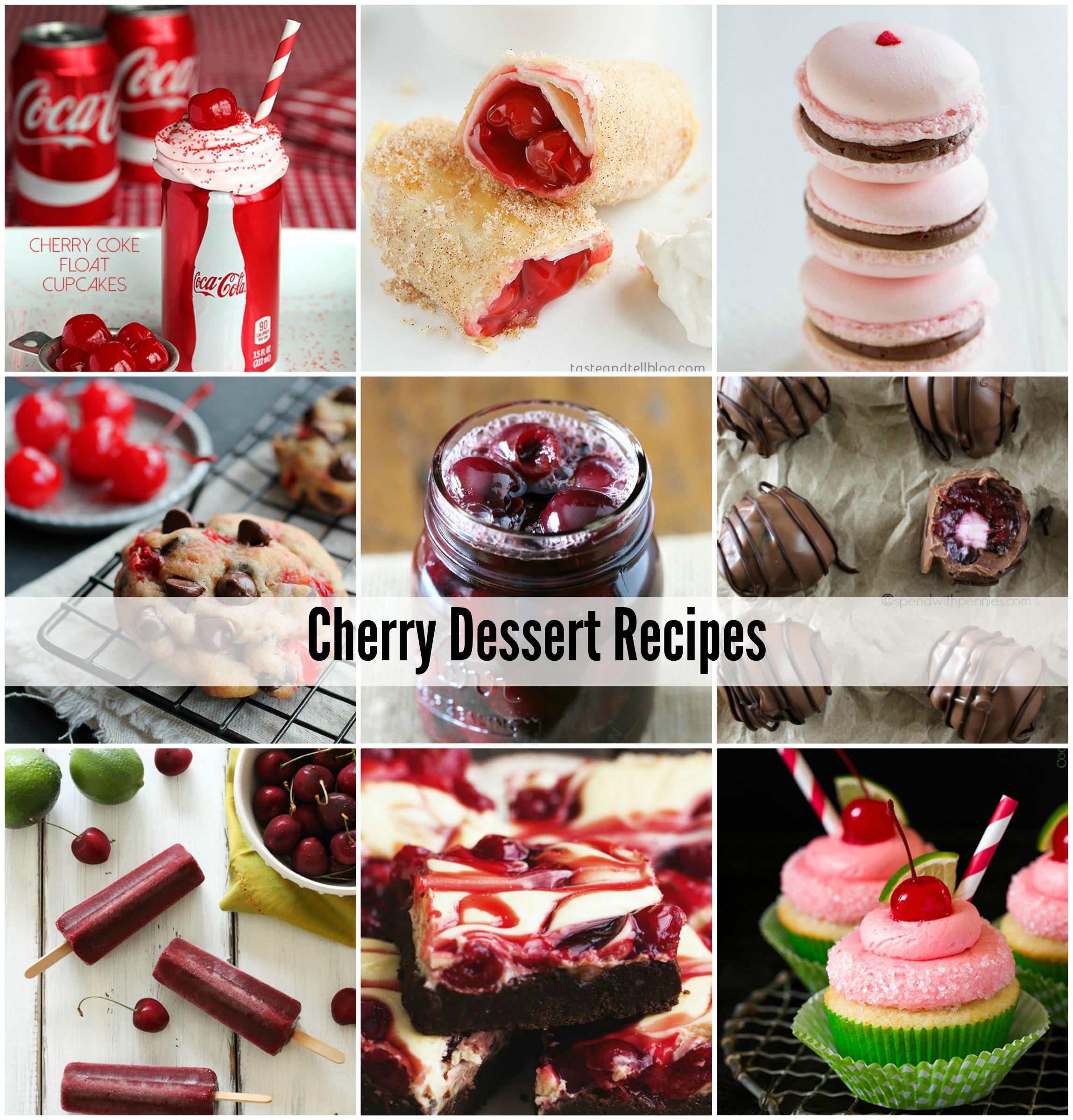 Cherry Dessert Recipes