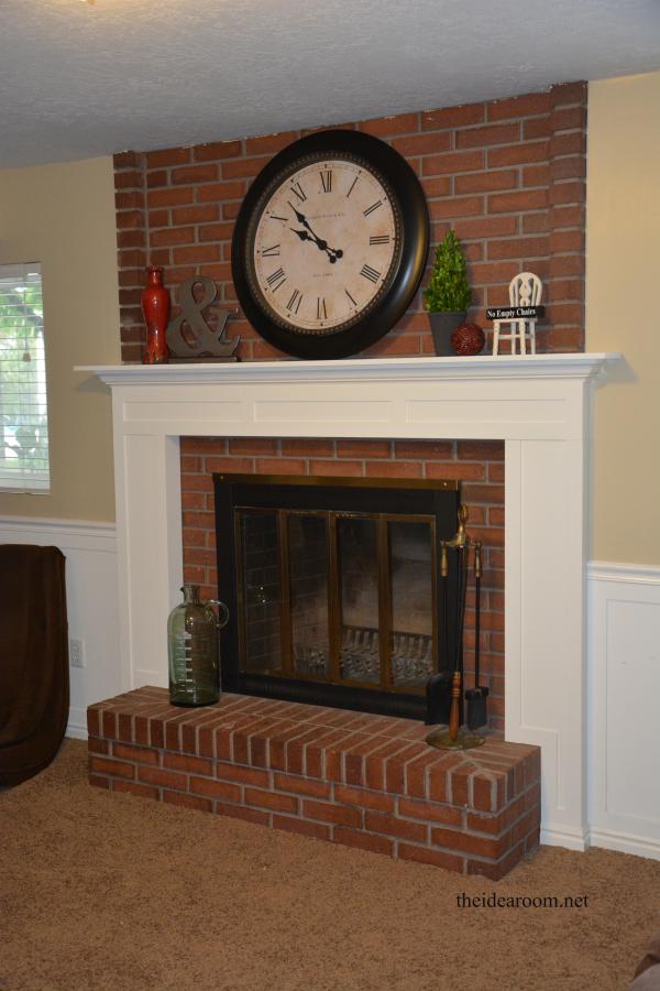 DIY-fireplace-mantel