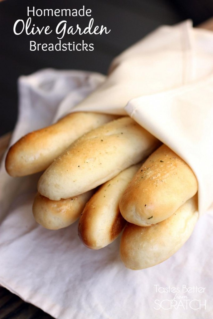 Copycat recipes round up the idea room for Olive garden breadsticks recipe
