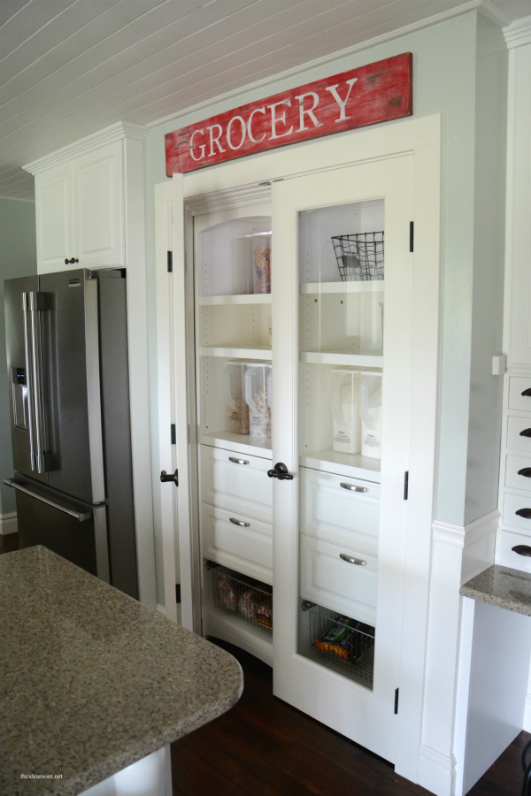 Pantry Cabinet: White Pantry Cabinet Lowes with Decorating: White ...