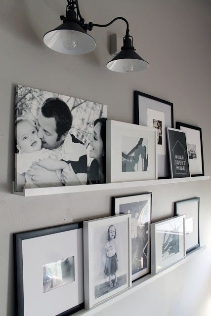 Wall Decor Cottage Look For Gray Living Room