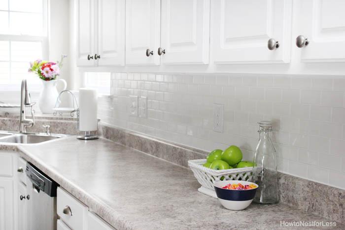 Subway Tile Kitchen Backsplash Lowes