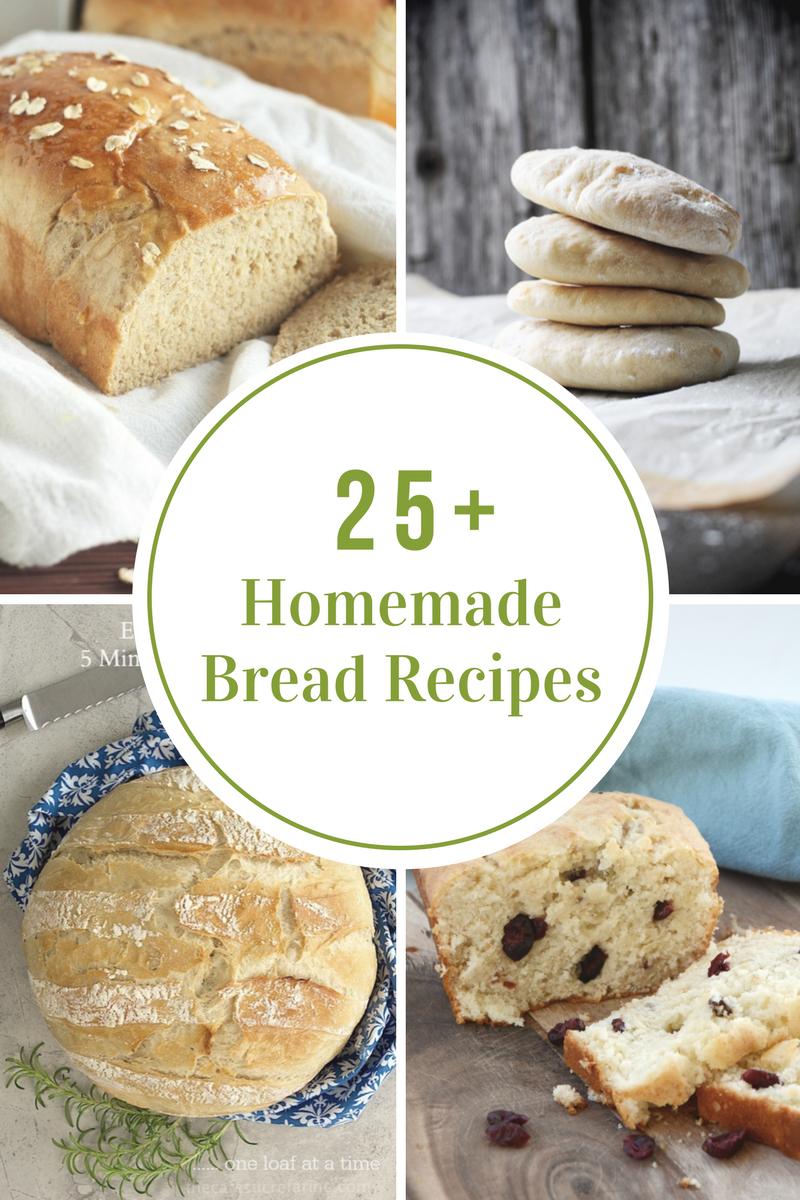 Homemade Bread Recipes The Idea Room