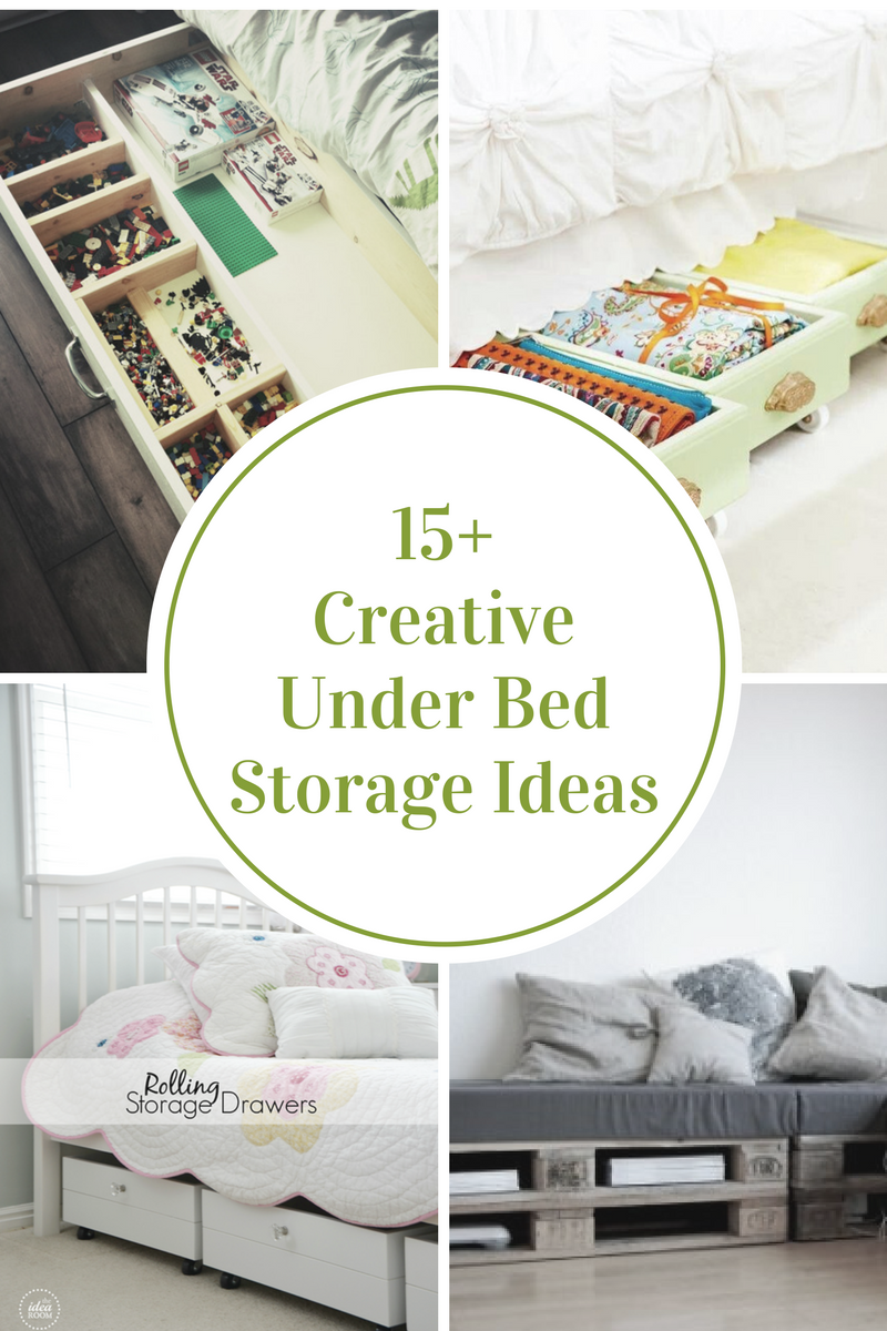 Creative Under Bed Storage Ideas
