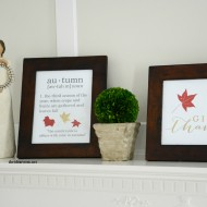 Printable Fall Signs