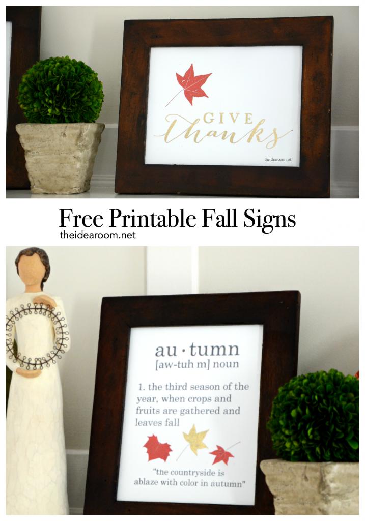 Fall-Sign theidearoom.net