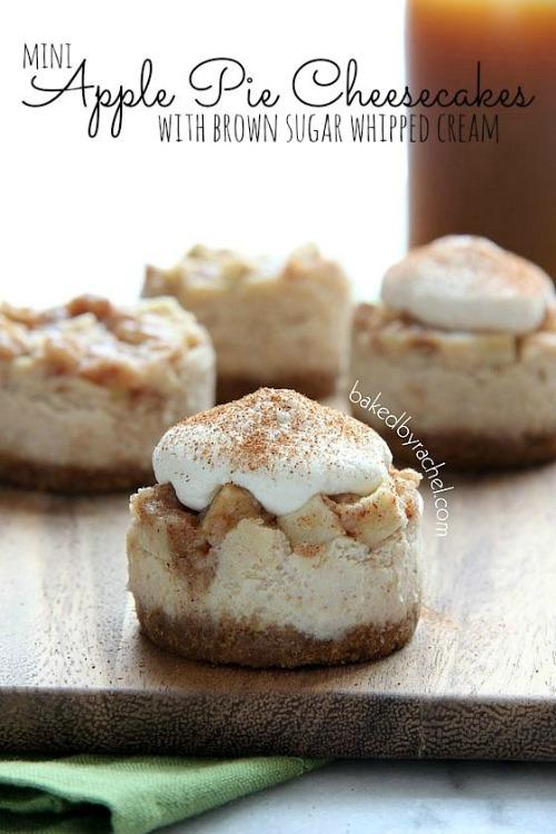Mini-Apple-Pie-Cheesecakes