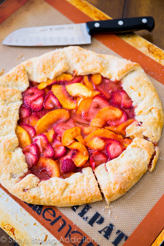 Rustic-Strawberry-Peach-Tart-6