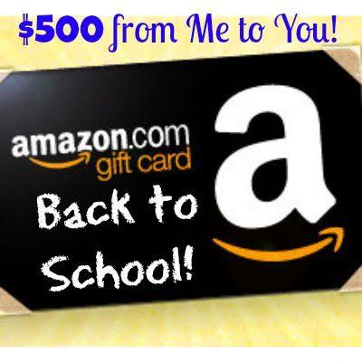 amazon back to school giveaway
