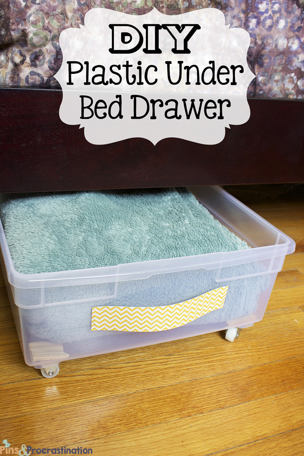 Diy Plastic Underbed Drawers Drawer Le
