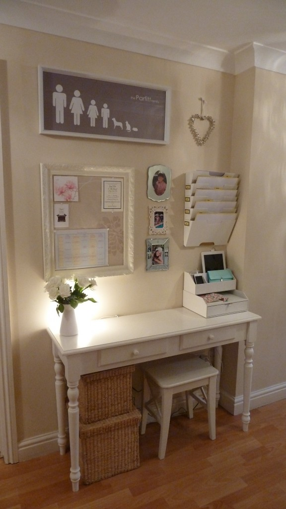 Small Living Room Office Ideas: Family Command Centers