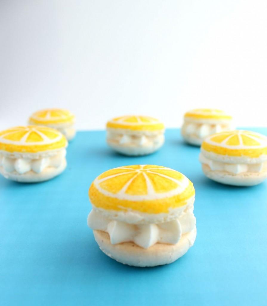 lemon macaroon cookies