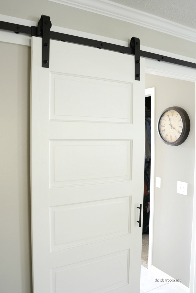 Barn Door Reveal on bedroom designs 2015