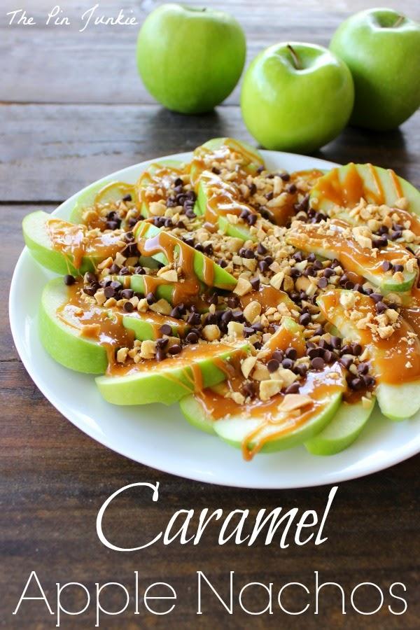 Caramel apple nachos 3