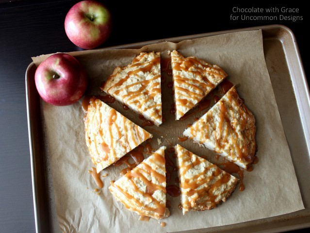 favorite caramel apple scones by uncommon designs caramel and apples ...