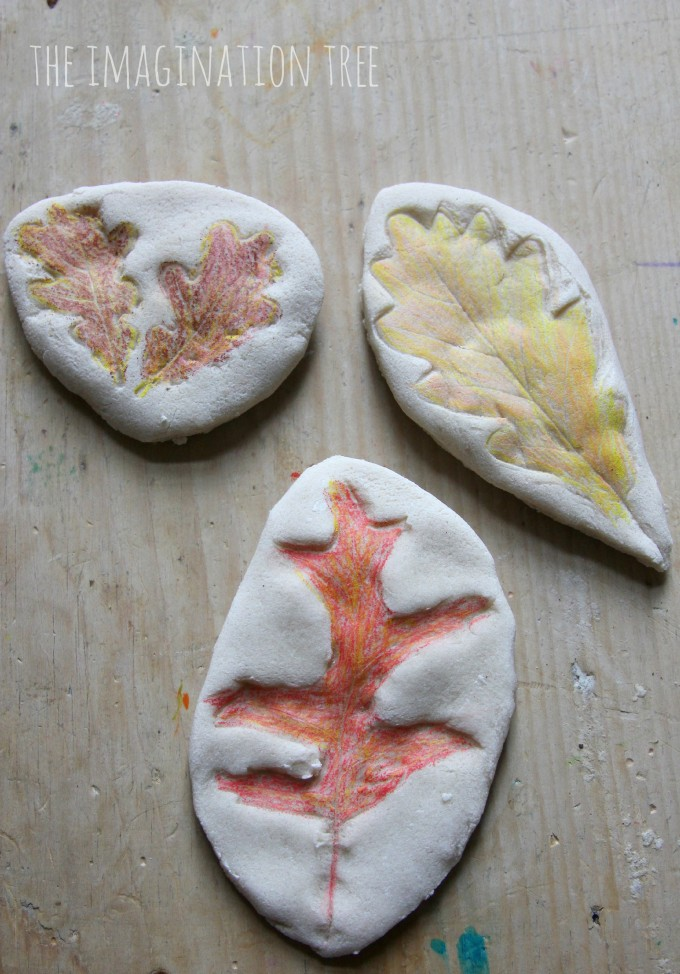 Coloured-salt-dough-leaf-impressions-680x974