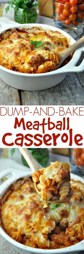 Dump-and-Bake-Meatball-Casserole