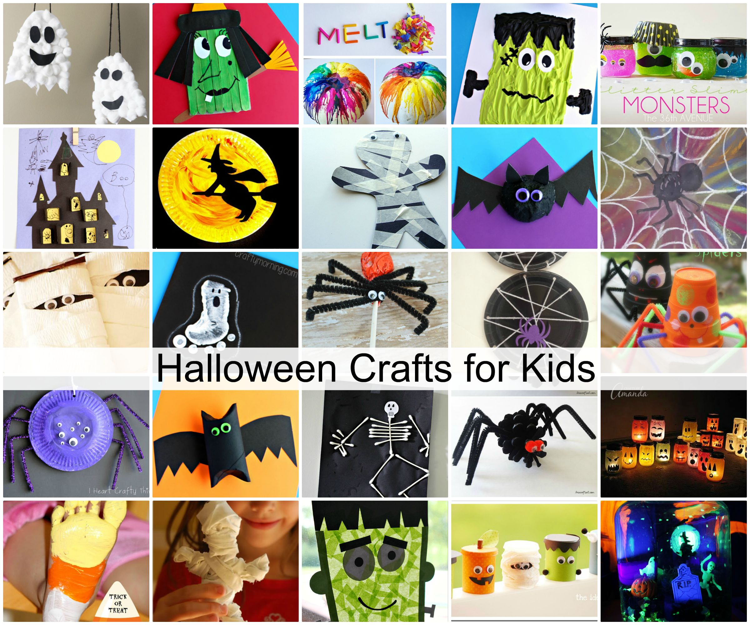 halloween crafts for kids 1