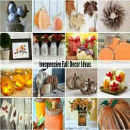 Inexpensive Fall Decorating Ideas