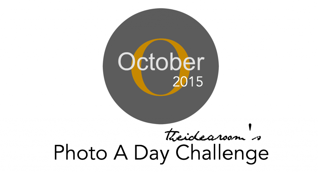 October Photo A Day 2015 cover
