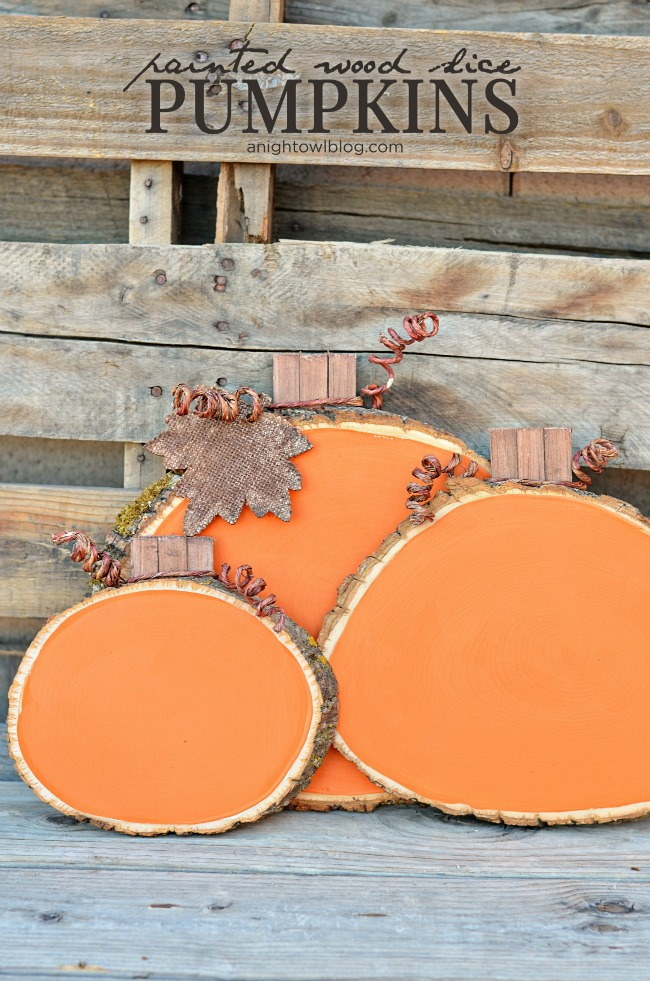 Wood Slice Craft Projects