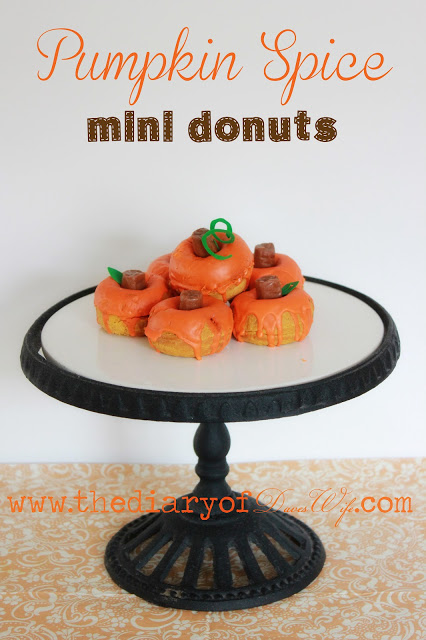 Pumpkin Spice Mini Donuts (3)