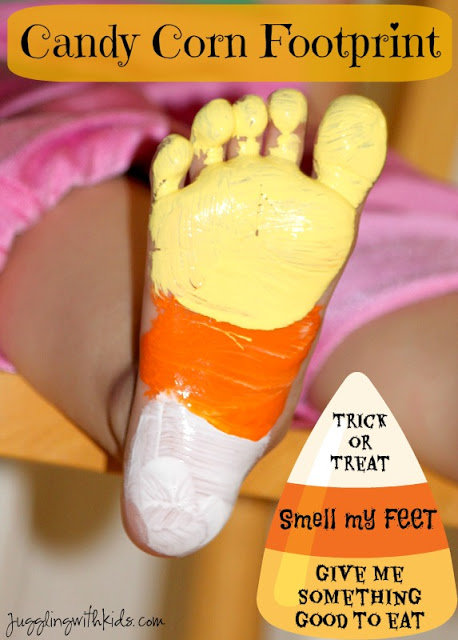 candy corn footprint 11
