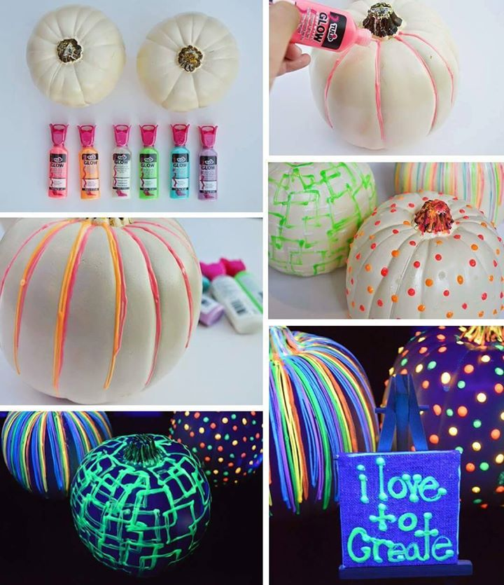 glow in dark pumpkins