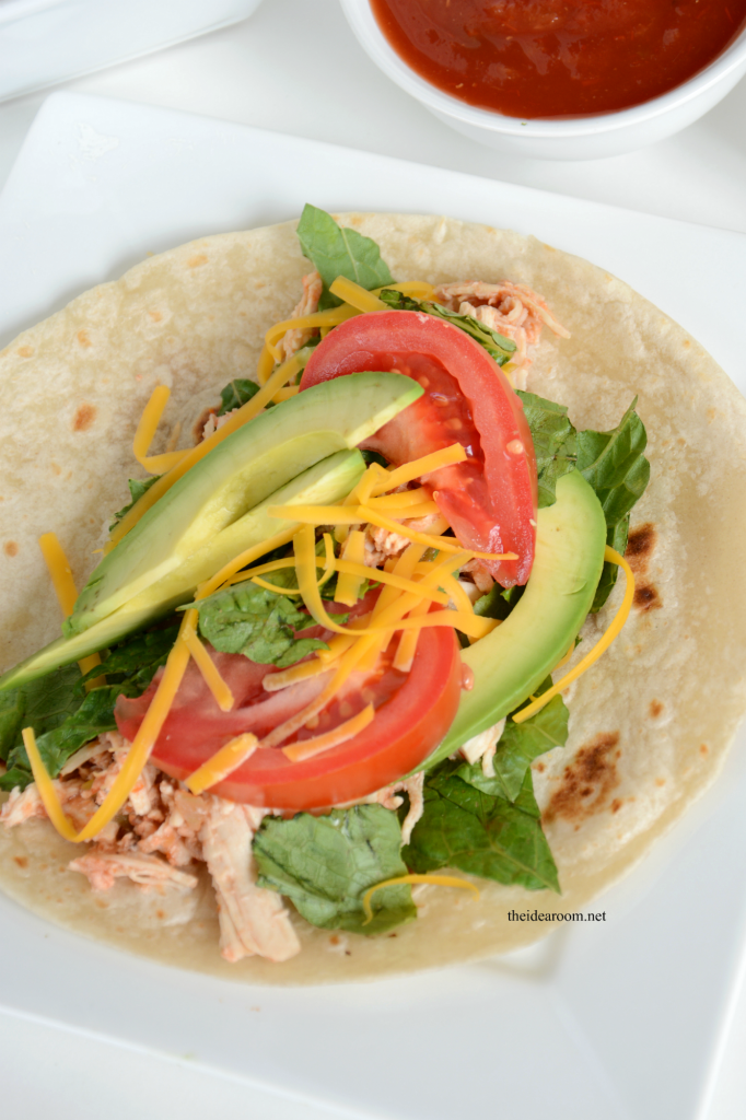 slow-cooker-chicken-tacos 4
