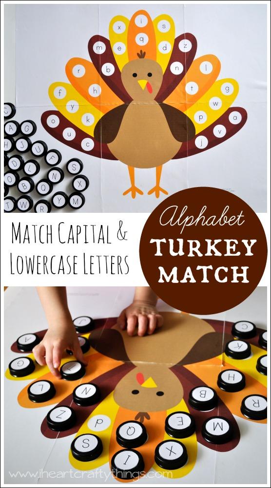 Alphabet Turkey Match