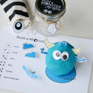 Build A Monster Game and Gift Kit