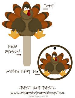 Copy of Turkey Hunt Instruction Page