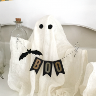 DIY Halloween Ghosts