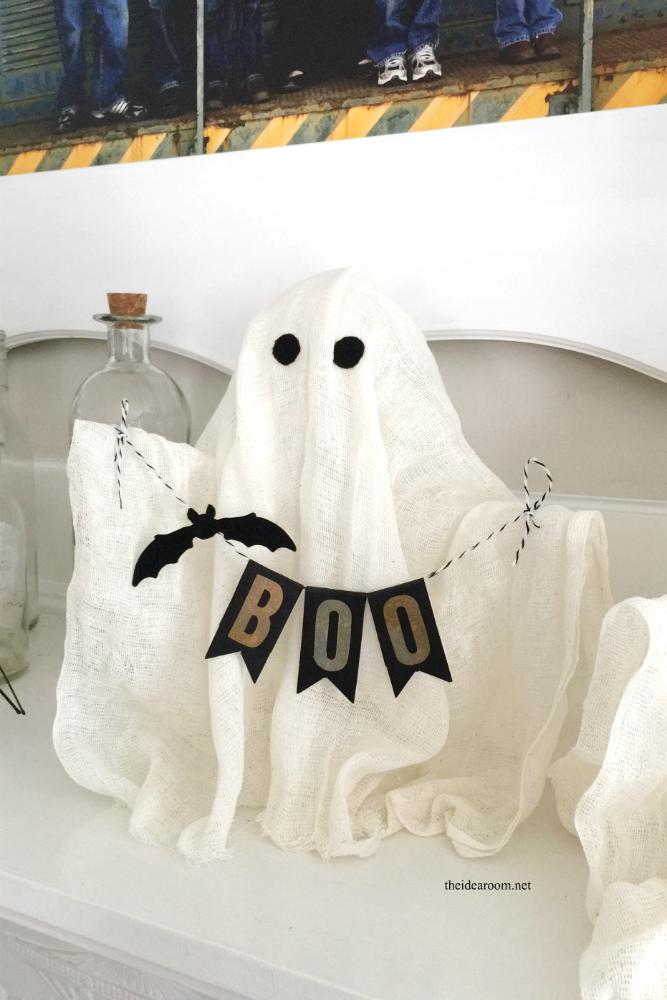 Diy Halloween Ghosts The Idea Room