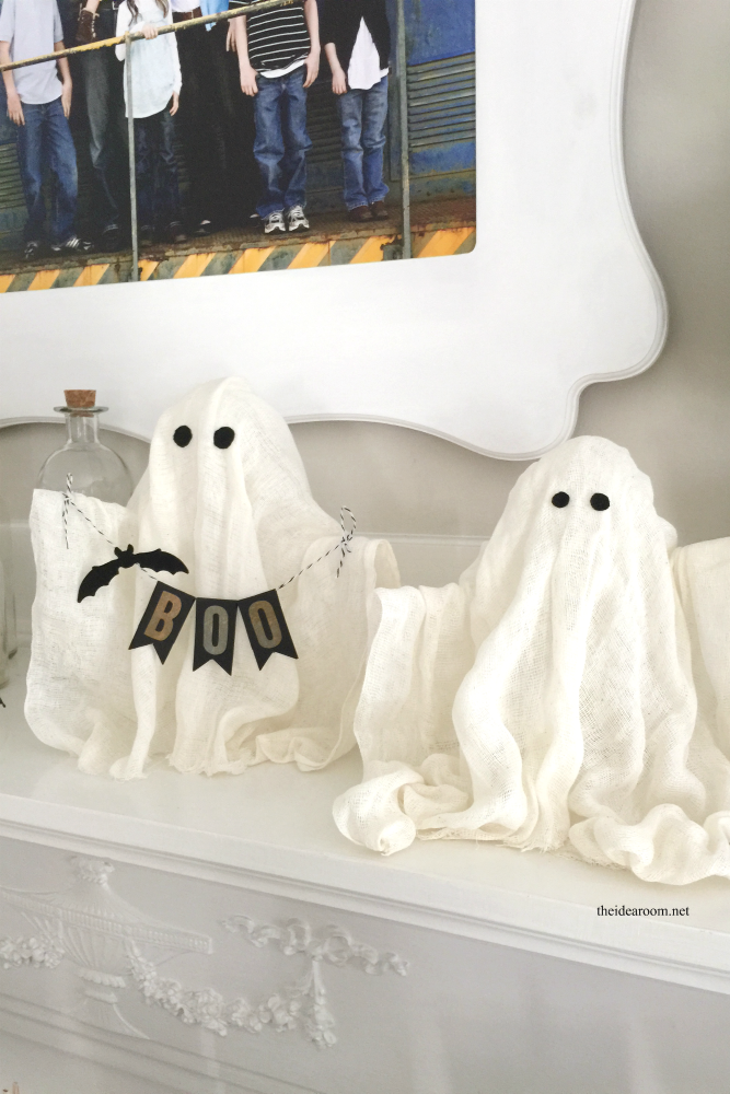 diy halloween ghosts create some fun diy halloween ghosts for your halloween decor or - Cheesecloth Halloween Decorations