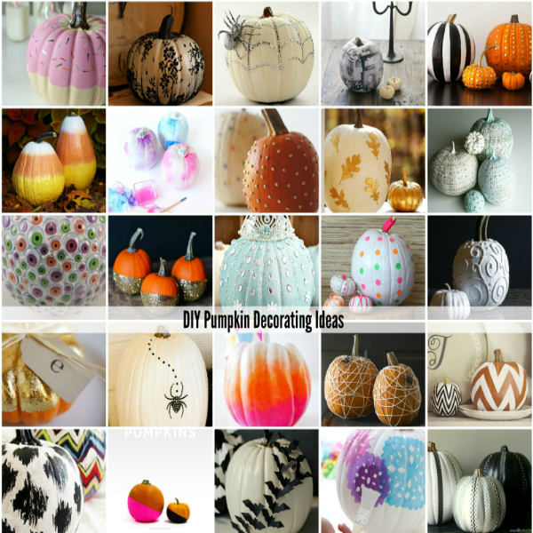 Diy Pumpkin Decorating Ideas The Idea Room