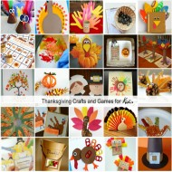 Thanksgiving Crafts and Games for Kids