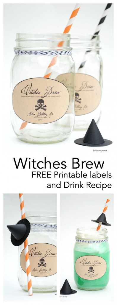 Witches-Brew pin