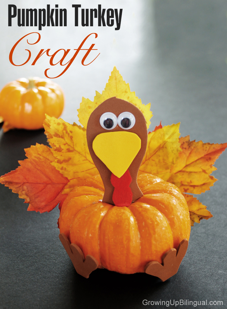 Thanksgiving crafts and games for kids the idea room for How to decorate a pumpkin for thanksgiving