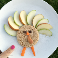 Fun Kid Snack Ideas: Turkey Snack