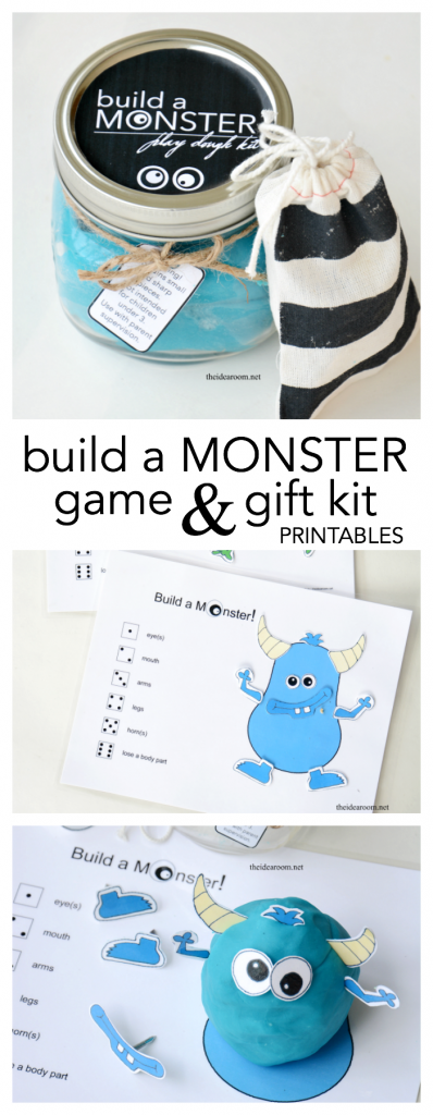 monster gift kit pin